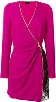 La Perla - dress with zip and lace de