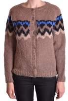 Liu Jo Women's Brown Wool Cardigan.