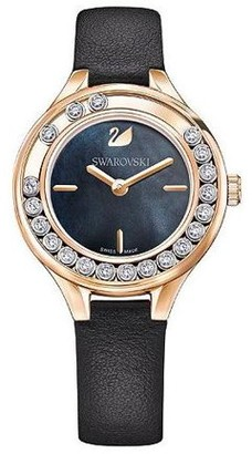 Swarovski Women's Lovely Crystals Mini Watch - Black - 5301877