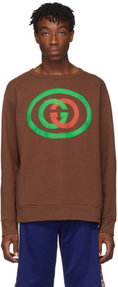 Gucci Brown GG Sweatshirt