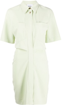Nanushka Ruched-Effect Dress