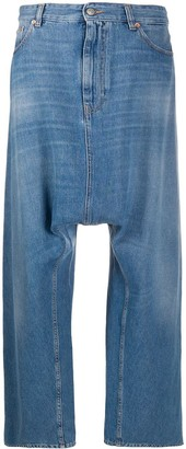 MM6 MAISON MARGIELA Dropped-Crotch Wide-Leg Jeans