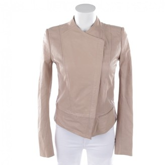 Drykorn Pink Leather Jacket for Women