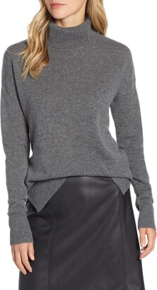 Halogen Cashmere Turtleneck Sweater