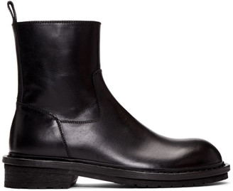 Ann Demeulemeester Black Tucson Zip-Up Boots