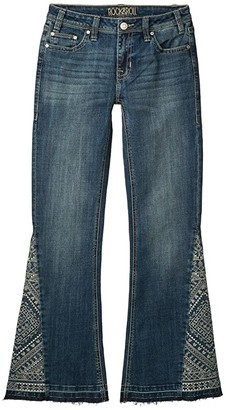 Rock and Roll Cowgirl Mid-Rise Trousers in Medium Vintage W8M4140 (Medium Vintage) Women's Jeans