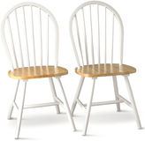 JCPenney Buylateral Willow Set of 2 Dining Chairs