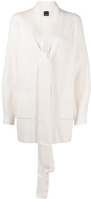 Pinko Ribbed Knit Cardigan