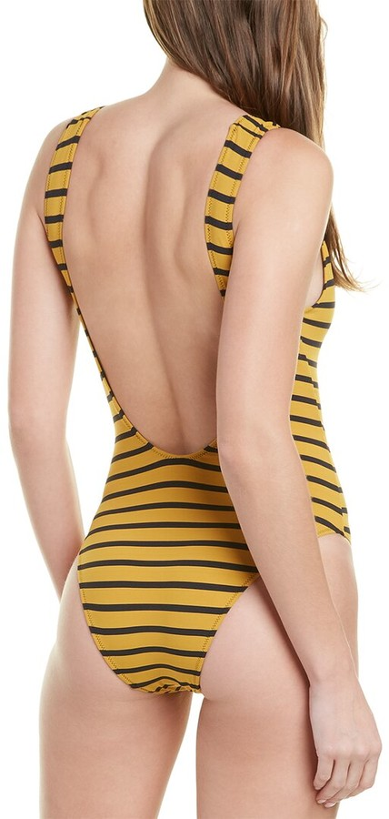 Thumbnail for your product : Solid & Striped Striped Tank One-Piece