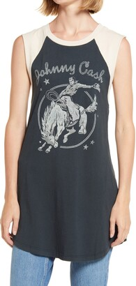 Daydreamer Johnny Cash Rodeo Graphic Tank