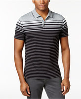 Alfani Men's Engineered Striped Polo, Only at Macy's