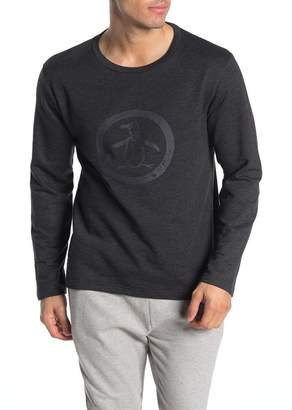 Original Penguin Crew Neck Long Sleeve Pajama Top