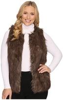 Christin Michaels Plus Size Penny Ante Faux Vest