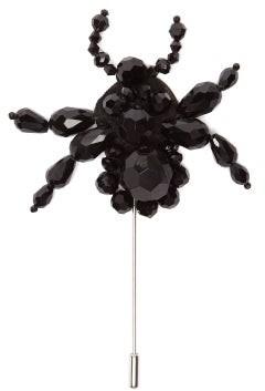 Simone Rocha 4 Moncler Spider Beaded Brooch - Womens - Black