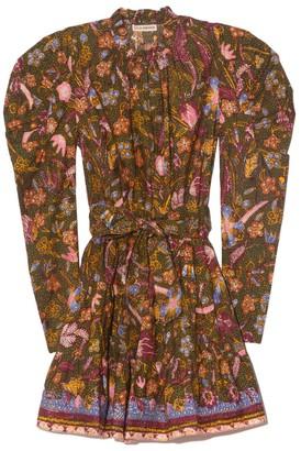 Ulla Johnson Naima Dress in Pine Floral