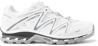 Salomon Xt Quest Adv Mesh And Leather Running Sneakers