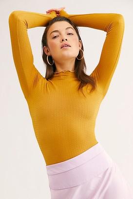 Intimately Make It A Mock Neck Seamless Bodysuit