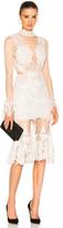 Jonathan Simkhai Linear Dome Lace Dress