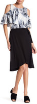 Bobeau Short Wrap Skirt