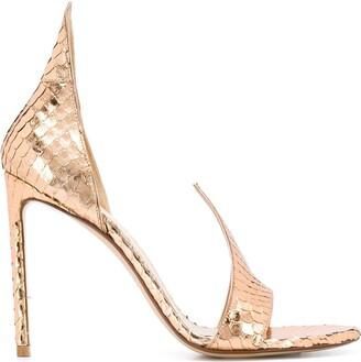 Francesco Russo flame sandals