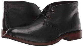 Trask Landers (Navy English Suede) Men's Lace-up Boots