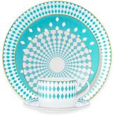 B by BrandieTM Sydney 5-Piece Place Setting in Turquoise/Gold