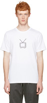 Rag & Bone White T.v. Embroidery T-shirt