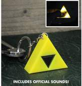 Officially Licensed The Legend of Zelda Tri-Force LED Light-Up Keyring