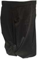 Max Mara Skirt in wool shaped as pants made in to a skirt