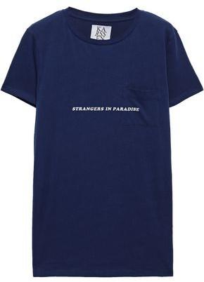 Zoe Karssen Strangers In Paradise Printed Cotton-jersey T-shirt