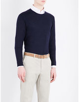 Gieves & Hawkes Crewneck Wool Jumper