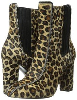 Just Cavalli High Heel Ankle Boot w/ Beaded Detail
