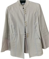 Armani Collezioni Grey Jacket for Women