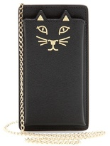 Charlotte Olympia Feline Leather Iphone 5 Case