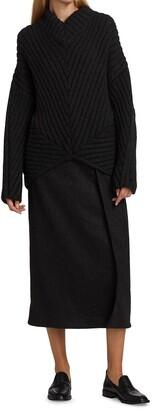 Proenza Schouler Wool Chunky Rib Sweater
