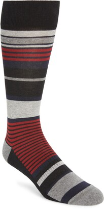 Nordstrom Stripe Cushion Foot Socks