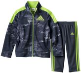 adidas Baby Boy Track Jacket & Pants Set