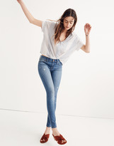 """Madewell Tall 8"""" Skinny Jeans in Bellaire Wash"""