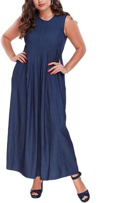 Peony Swimwear Plus Dress
