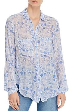 Bella Dahl Printed Button-Front Shirt