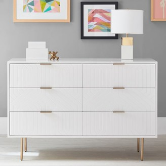 Pottery Barn Teen Jennings 6-Drawer Wide Dresser
