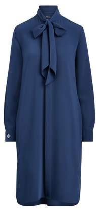 Ralph Lauren Necktie Twill Shirtdress