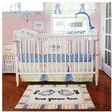 My Baby Sam Love Grows Here Crib Bedding Set