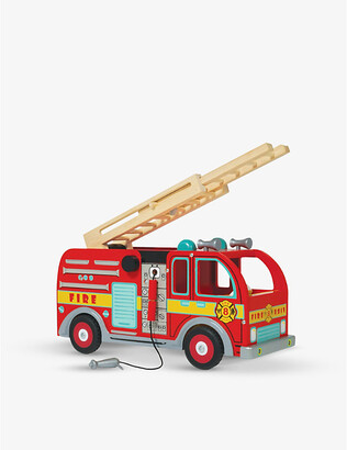 Le Toy Van Fire Engine wooden set