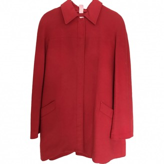 Thierry Mugler \N Red Cashmere Jacket for Women Vintage