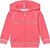Lelli Kelly Kids Pink Diamante Branded Hoody