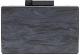 John Lewis Stormm Box Clutch Bag, Black