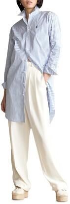 Polo Ralph Lauren Striped Belted Shirtdress
