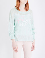 Wildfox Couture No Worries knitted jumper