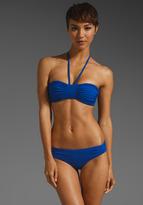 Susana Monaco Gathered Bikini Top